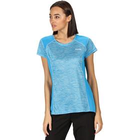 Regatta Breakbar V Camiseta Mujer, blue aster